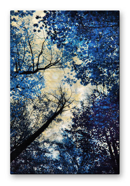 Wild Blue Tree Wall Art