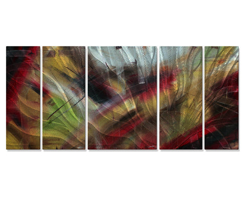 Jewels Ablaze Panels Set of 5