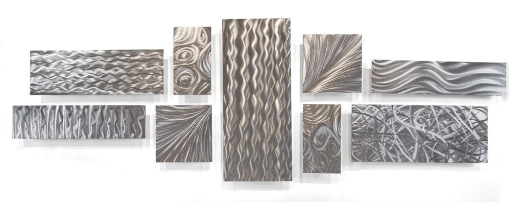 Freeform Rectangular Abstract Wall Hanging