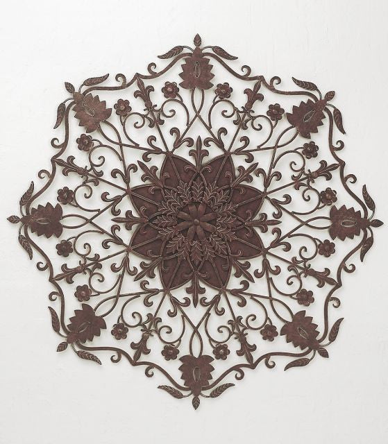 Gardens of Royalty Iron Wall Hanging