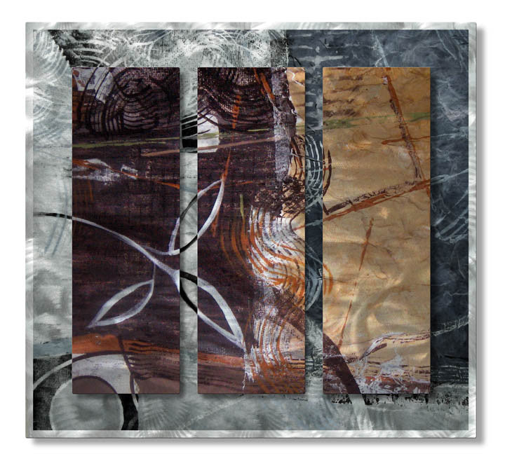 Focal Drama Abstract Handmade Metal Wall Art