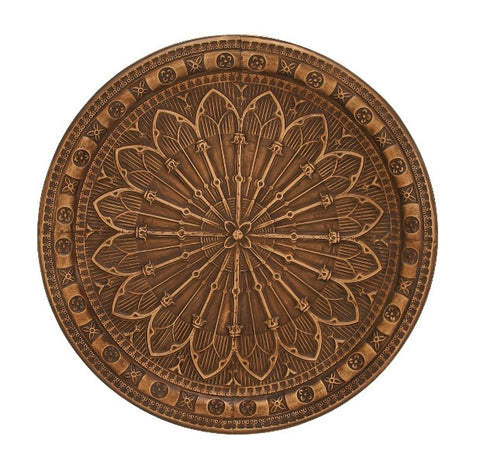 Outward Movement Wall Medallion