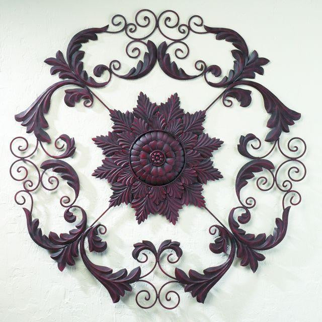 "37"" From the Castle Door Handmade Iron Wall Sculpture"