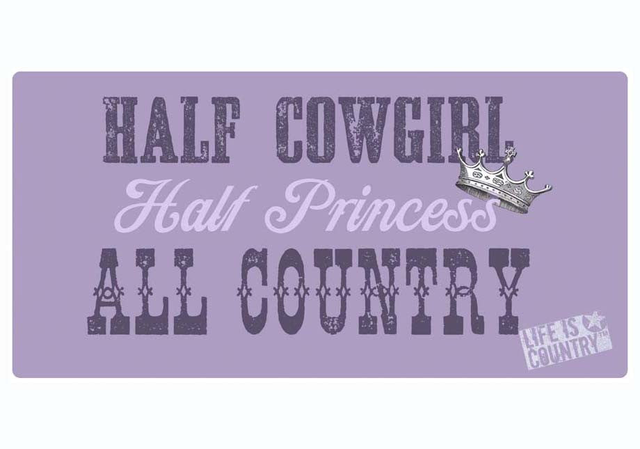 Country Cow Girl Wall Hanging