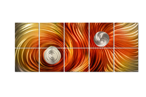 Solar Vision Custom Size Abstract Metal Wall Art