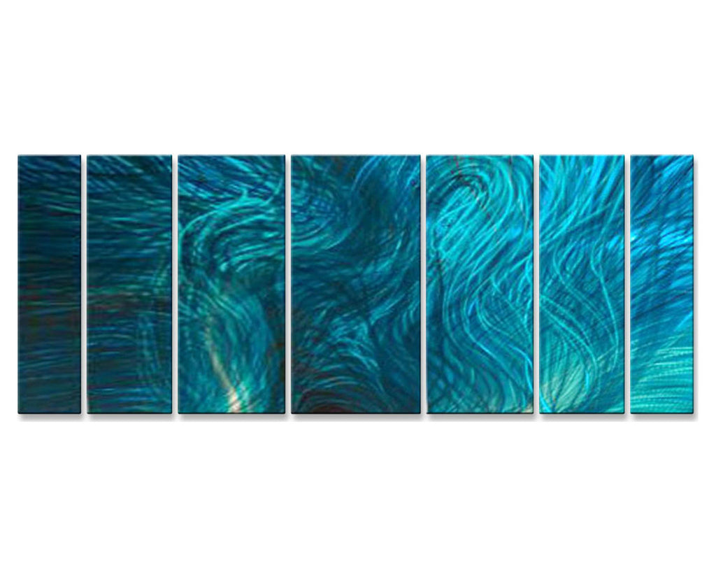 Aquatic Abstract Symphony Set of 7