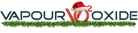 VapourOxide Australia Christmas Vape Logo | For all E-liquid, Vape, Mod, Pods and Vaping needs in Brisbane Queensland Australia