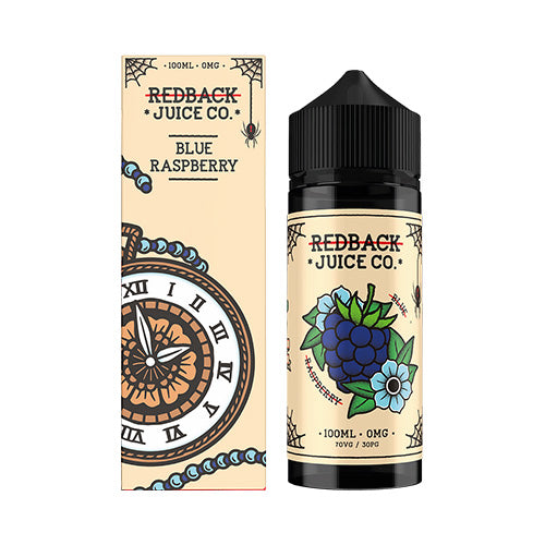 Blue Raspberry Vape E-Liquid | Redback Juice Co. | VapourOxide Australia