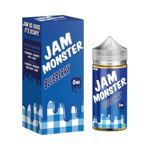 Blueberry Vape E-Liquid | Jam Monster | VapourOxide Australia