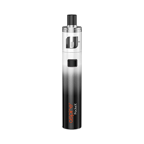 Aspire Pockex Vape Pen Kit Black & White Gradient | VapourOxide Australia