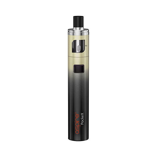 Aspire Pockex Vape Pen Kit Gold Gradient | VapourOxide Australia