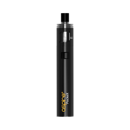 Aspire Pockex Vape Pen Kit Black | VapourOxide Australia