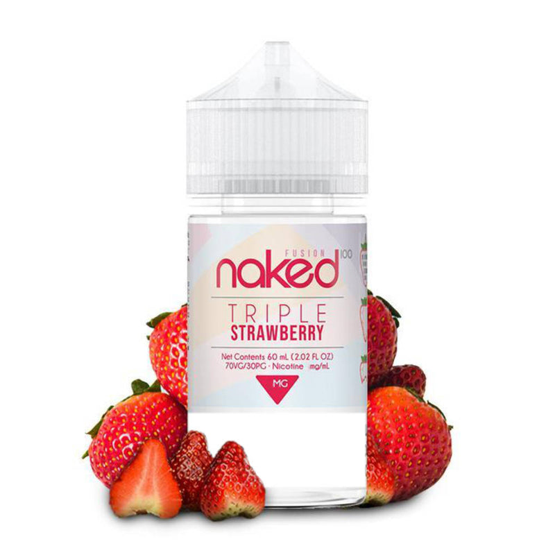 Triple strawberry fusion naked 100