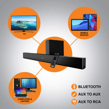 Load image into Gallery viewer, Mulo Arena 5000 2.1 Channel Soundbar with Subwoofer - mulo.in