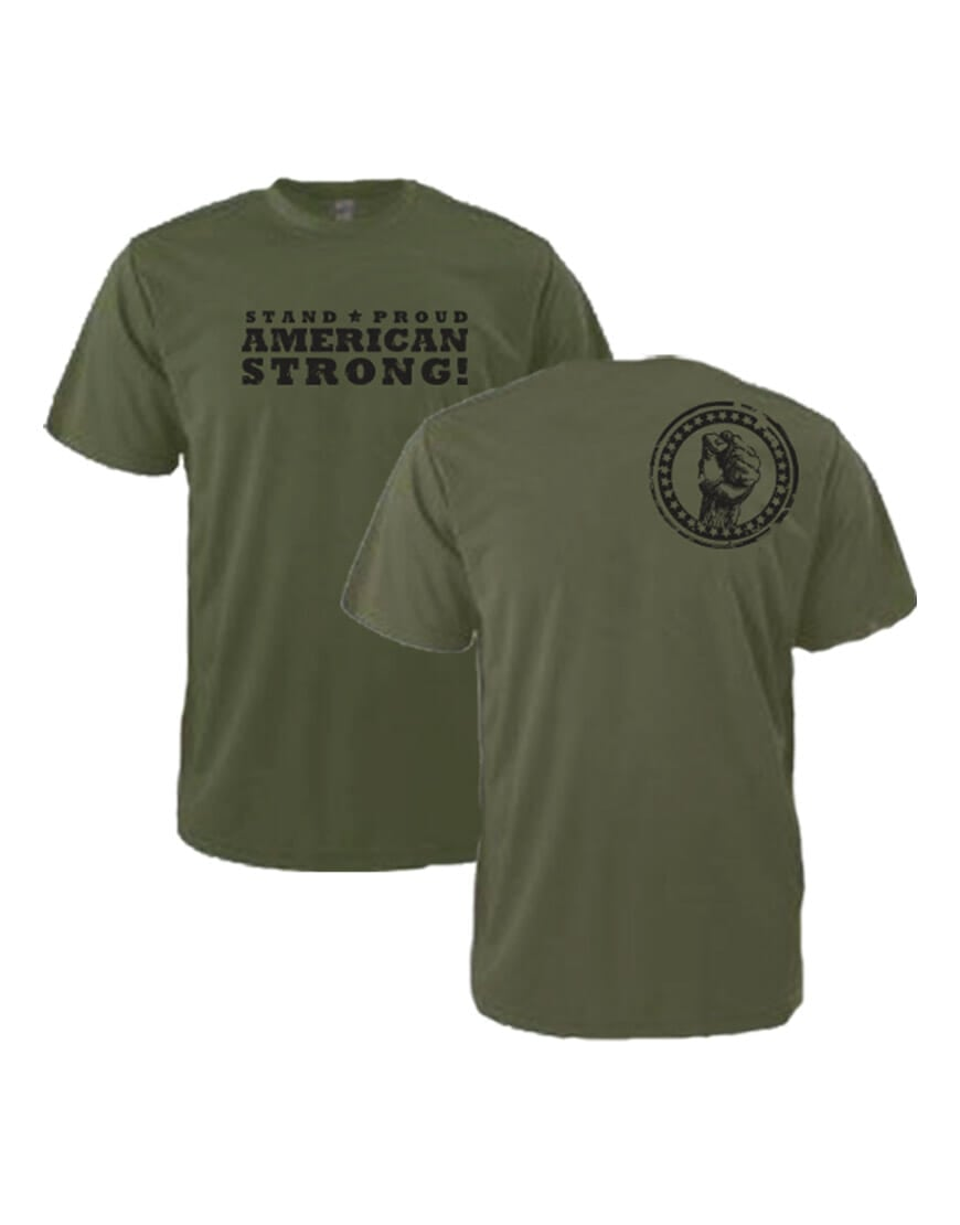 AMERICAN STRONG - MILITARY GREEN