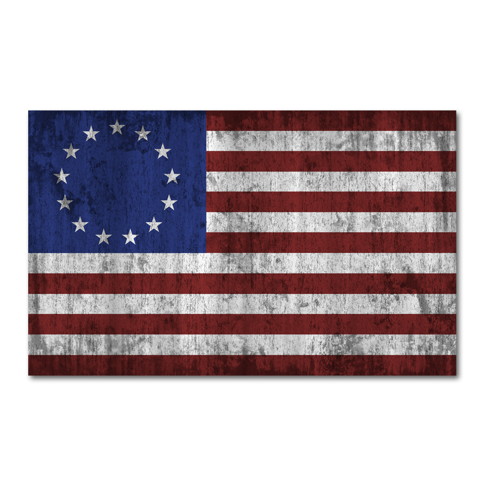 Betsy Ross Flag Decal