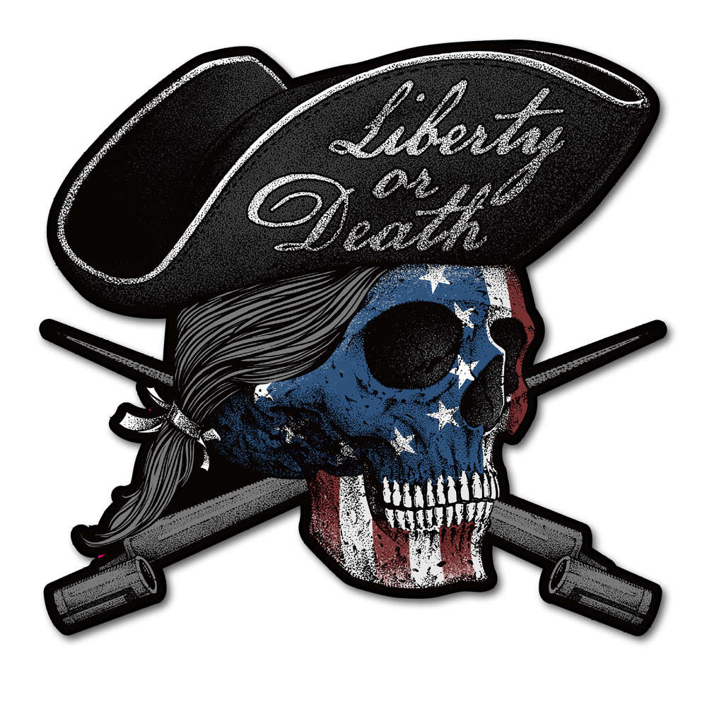 Liberty or Death Decal