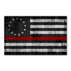 Thin Red Line Betsy Ross Flag Decal