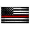 Thin Red Line Flag Decal