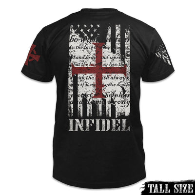 American Infidel Shirt Back Tall Size