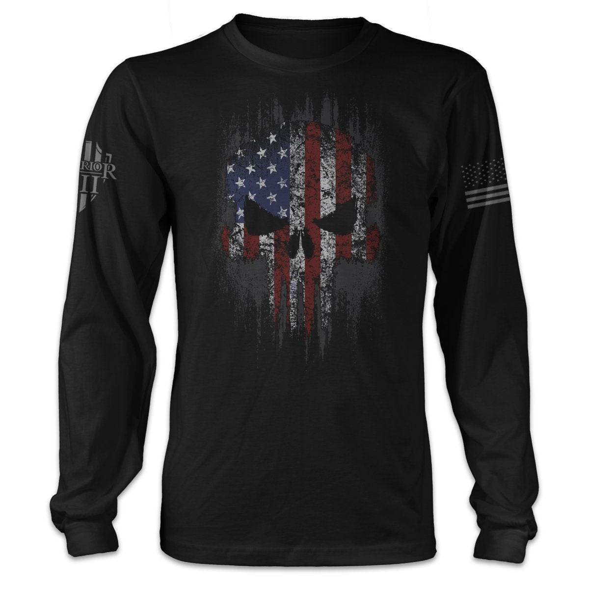 American Skull Long Sleeve