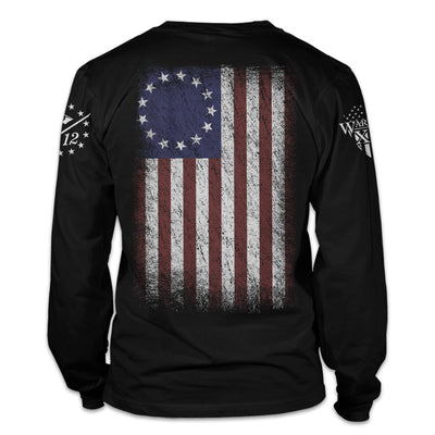 Betsy Ross Flag Long Sleeve