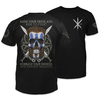 Celtic Warrior Violent Delights Shirt