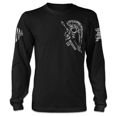 Die On Your Feet Thin Blue Line Long Sleeve