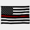 Embroidered Thin Red Line Flag