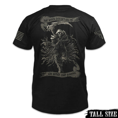 Fear The Reaper Shirt Back Tall Size