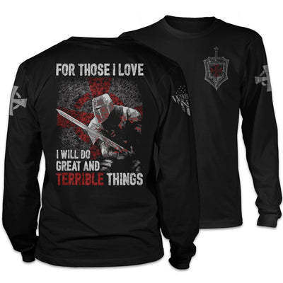 Great And Terrible Things Long Sleeve