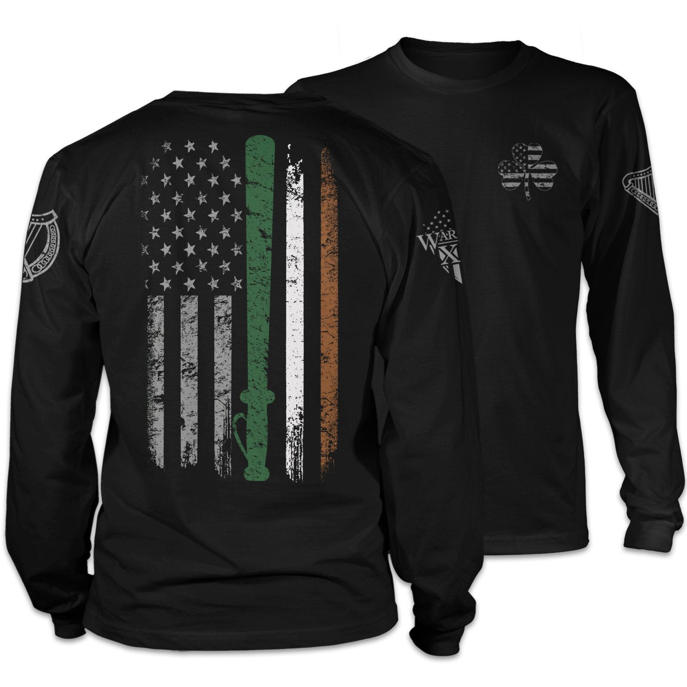 St. Patrick's Irish Police Flag Long Sleeve