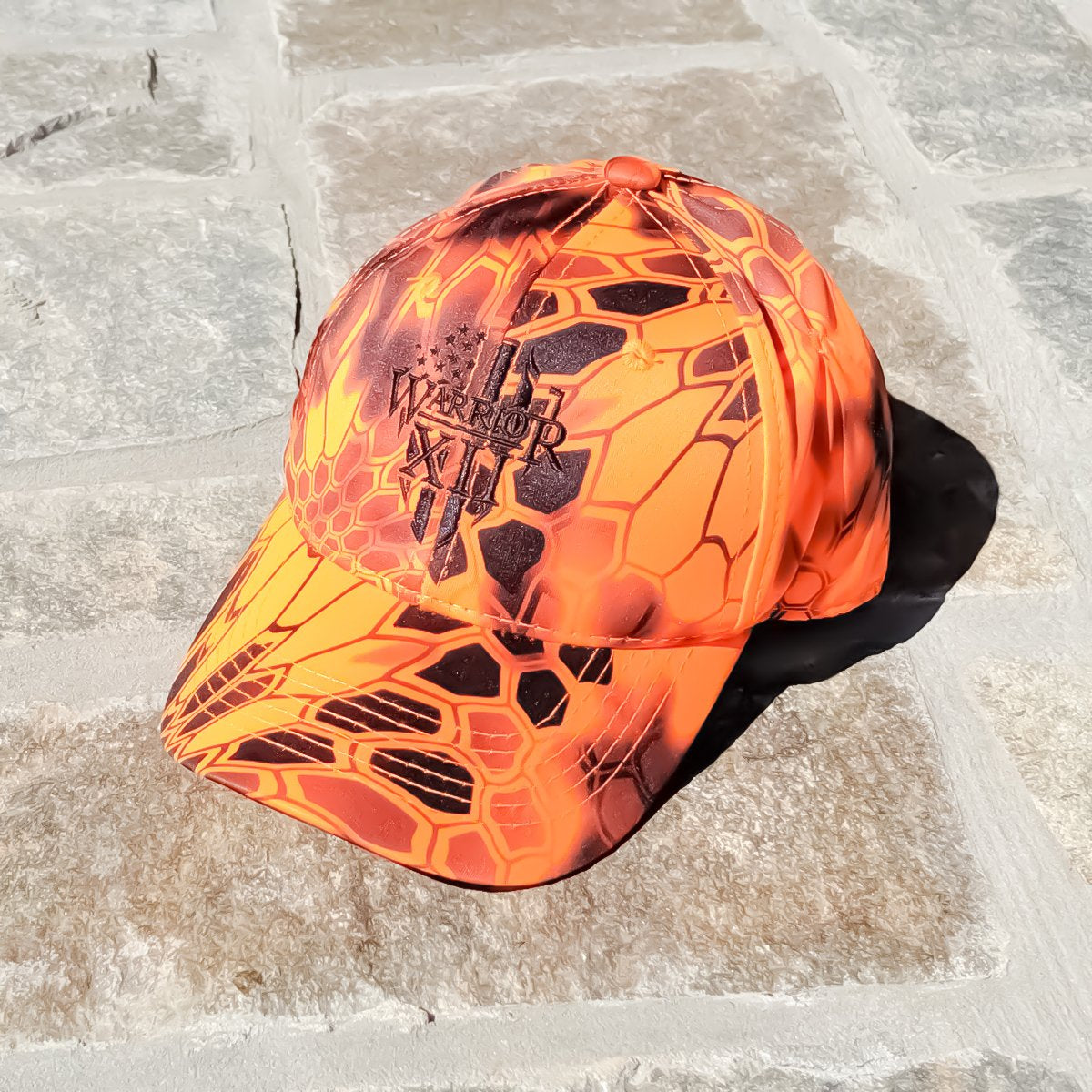 The Warrior Strapback Hat (Kryptek Inferno)