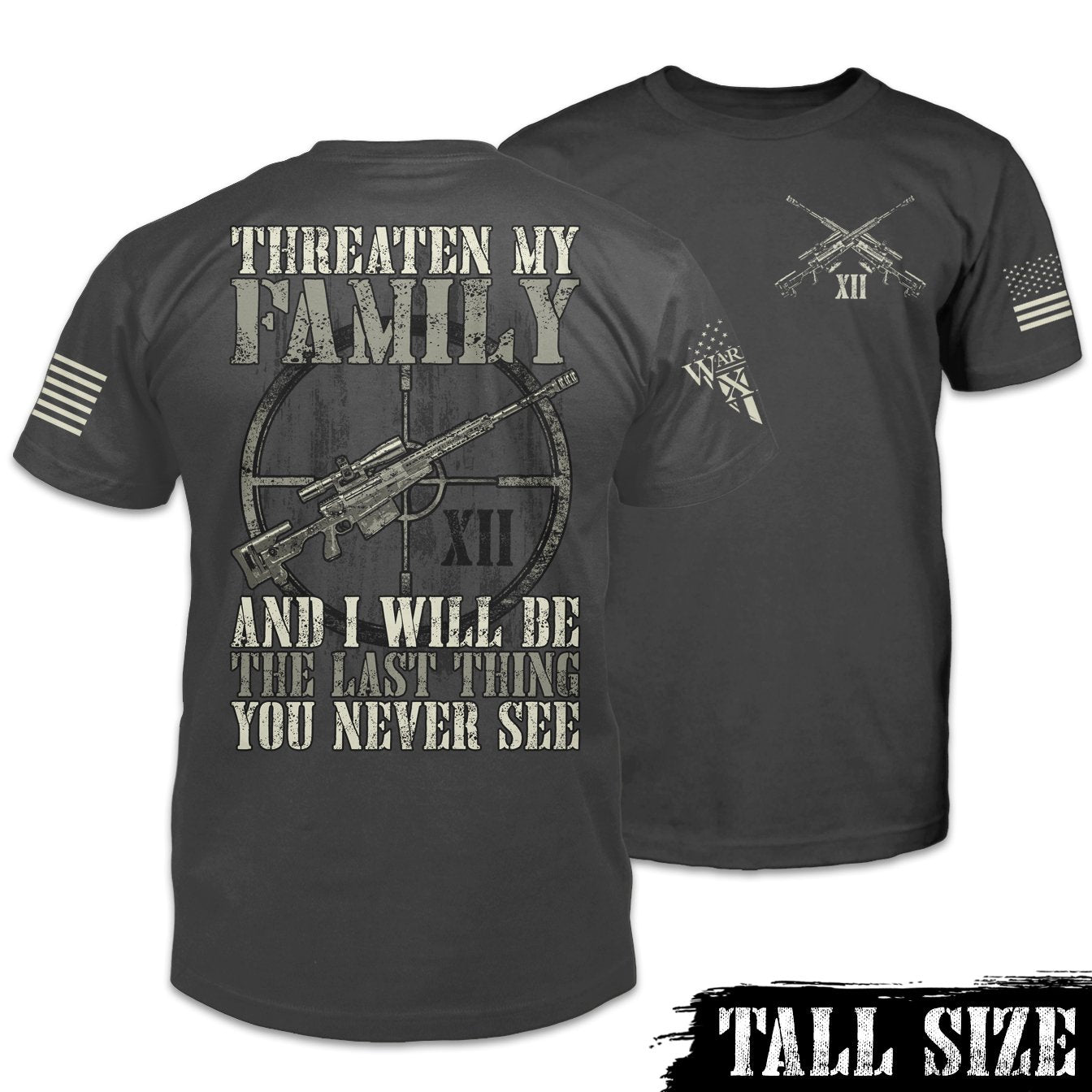 Last Thing You Never See Shirt Combo Tall Size