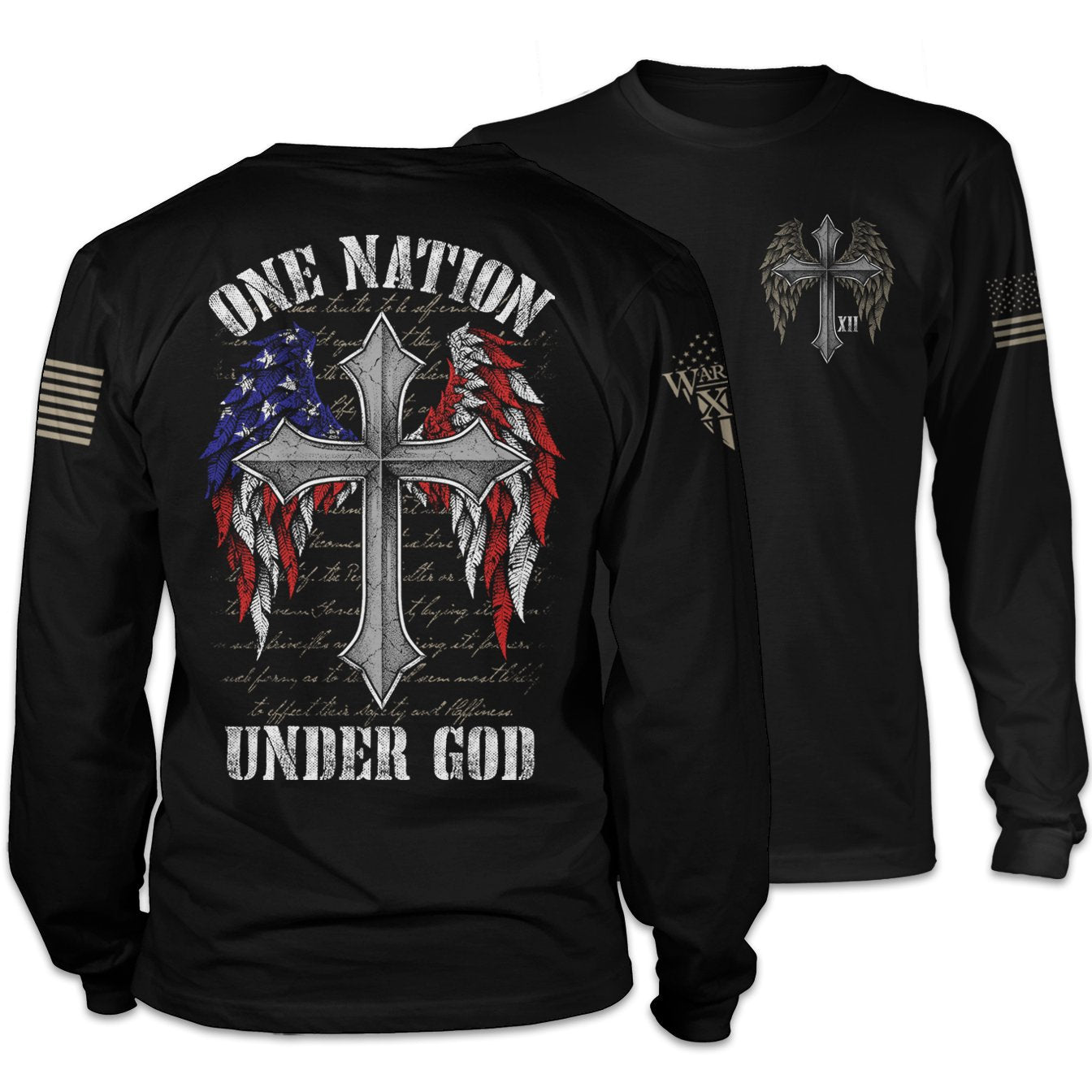 One Nation Under God Long Sleeve
