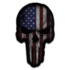 Retribution American Flag Skull Decal
