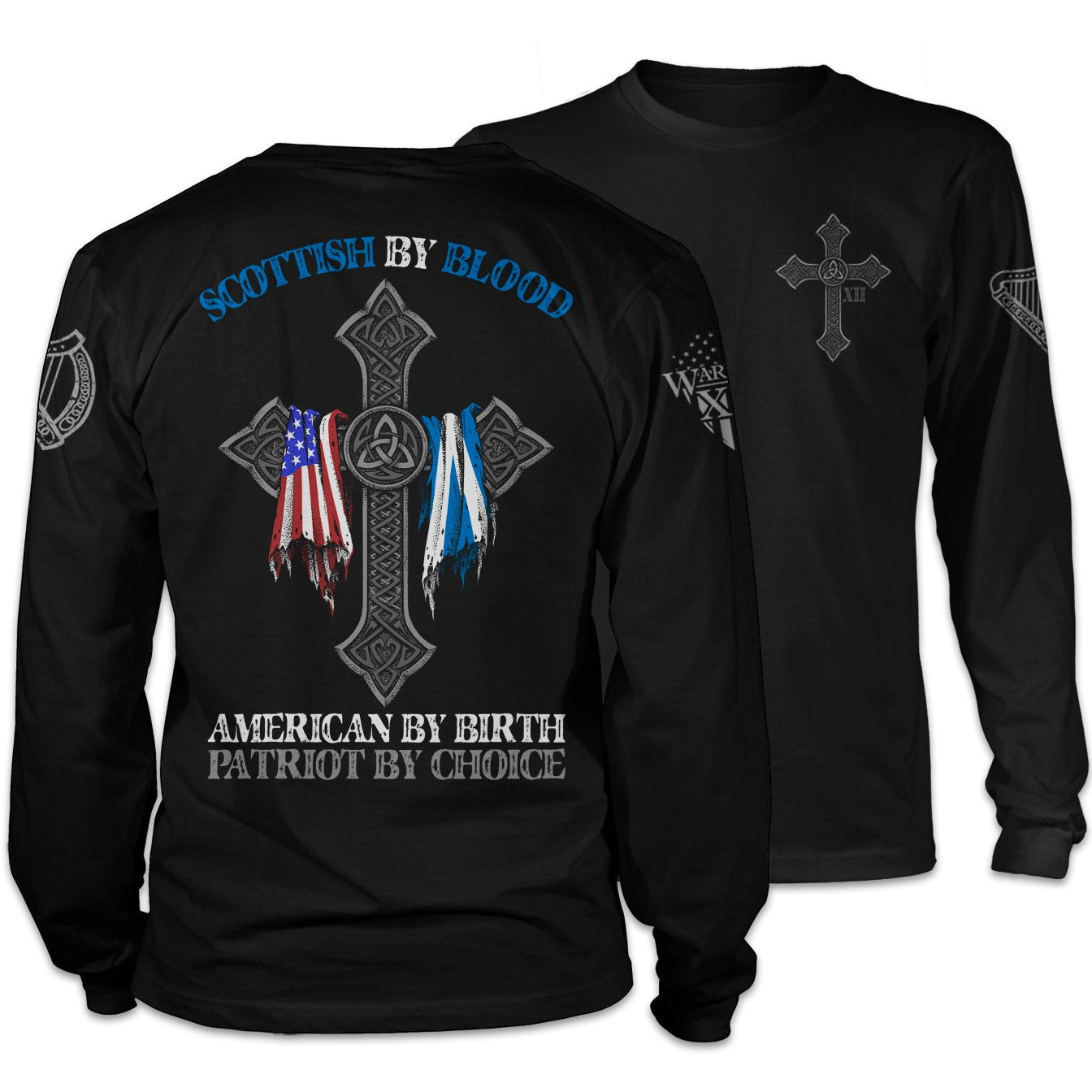Scottish By Blood Long Sleeve
