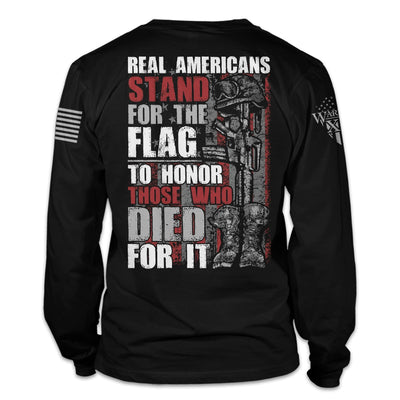 Stand For The Flag Long Sleeve