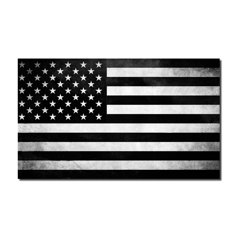 Tactical American Flag Decal