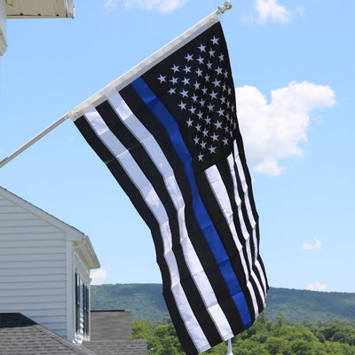 outdoor thin blue line flag