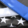 embroidered thin blue line flag