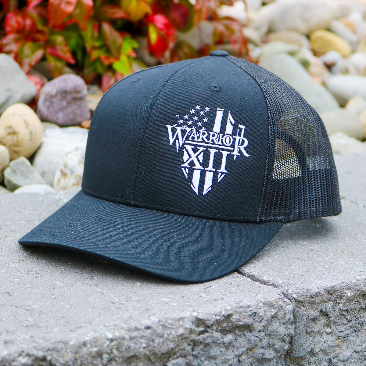 The Warrior Snapback Hat Black