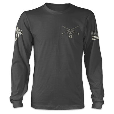 Until Valhalla Long Sleeve Front