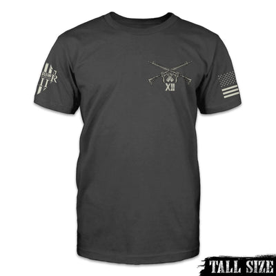Until Valhalla Shirt Front Tall Size