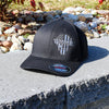 The Warrior Black Flexfit Hat