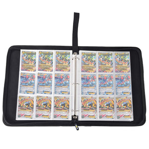Totem World 3-Ring Zipper Poke Ball Theme Card Case Binder