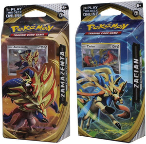 Pokemon Sword and Shield Rebel Clash Theme Decks Zacian & Zamazenta