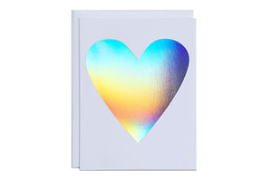 Hologram Heart Card