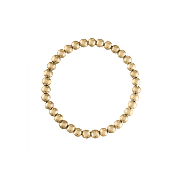 5MM Gold Ball Bracelet