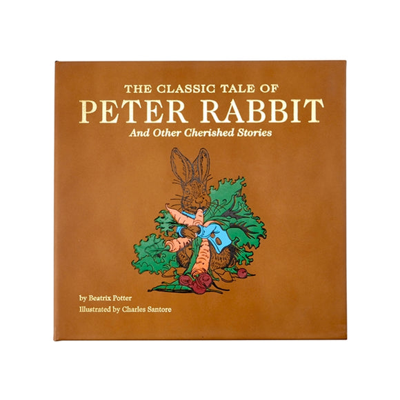 The Classic Tale of Peter Rabbit, Leather Bound
